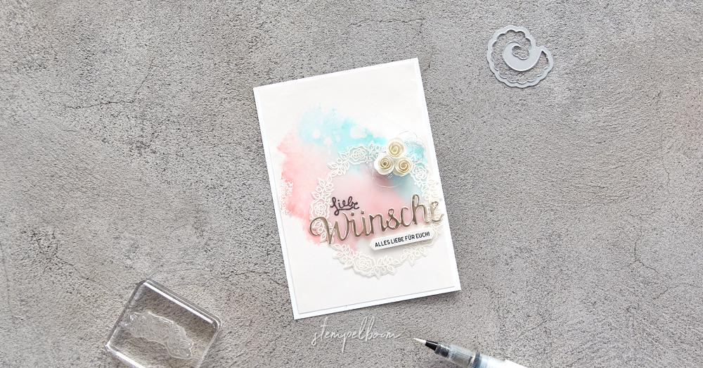 Karte zur Hochzeit - mit Stampin' Up!