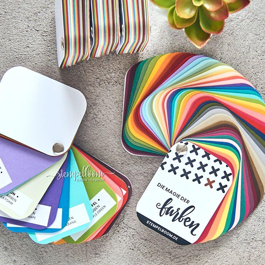 Stampin' Up! Color Coach Farbfächer stempelboom