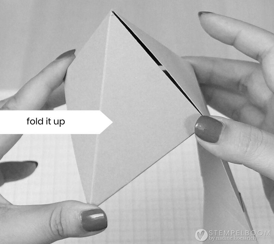 Anleitung Dreieckfaltbox