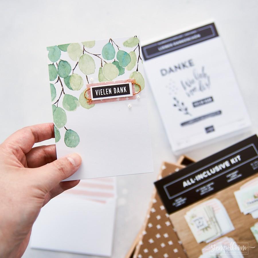 "Stampin' Up! Kartenset ""Liebes Dankeschön"" | Notes Of Kindness Card Kit | All-Inclusive Kit"