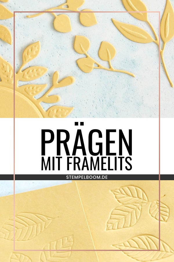 Frame- & Thinlits-Form prägen