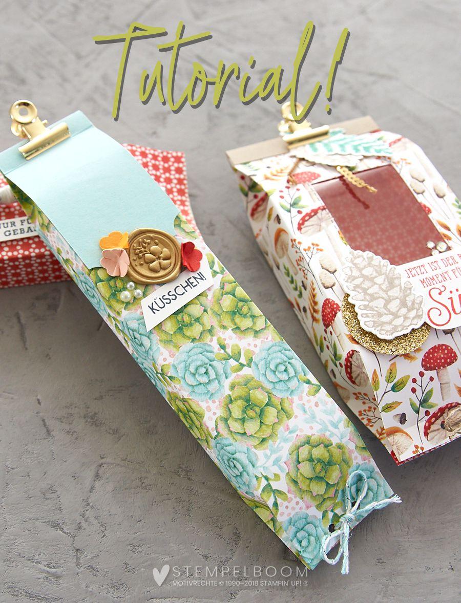 Anleitung für eine schnelle Geschenkverpackung