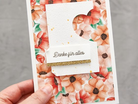 Dankeskarte mit Painted Seasons - Stampin' Up!