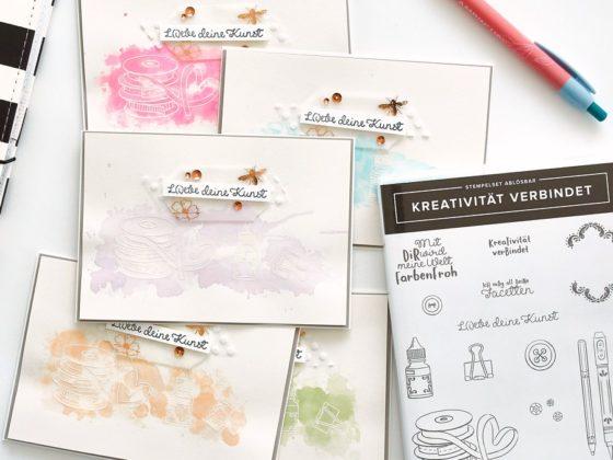 Karte L(i)ebe deine Kreativität
