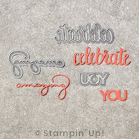 Celebrate You von Stampin' Up!